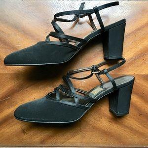 Woman's Elegant Sling Back Shoes